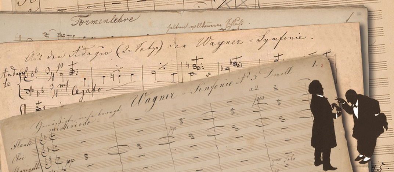 SY nr 3, handschriften + Bruckner & Wagner